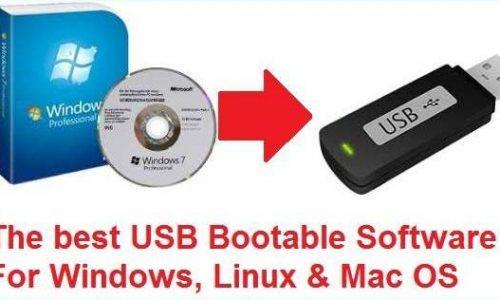 Daftar Aplikasi untuk membuat Bootable OS di USB Flashdisk